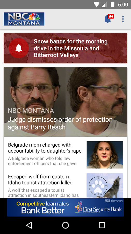 NBC Montana News- screenshot