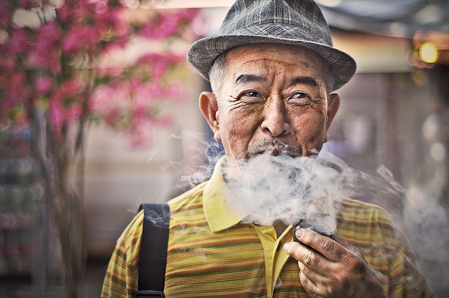 Holy smoke by Riffy Ladera - People Portraits of Men ( dragan, men )
