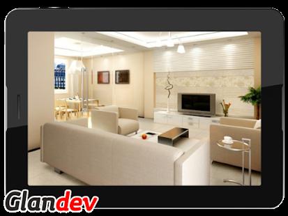Modern Living Room Interior - náhled