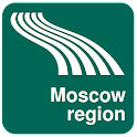 Karte von Region Moskau