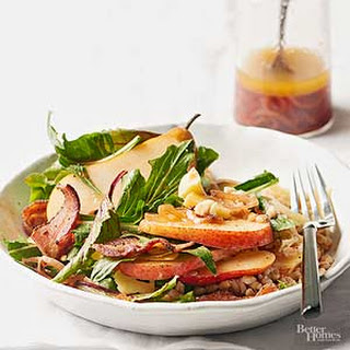 Bacon & Pear Autumn Salad