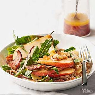 Bacon & Pear Autumn Salad