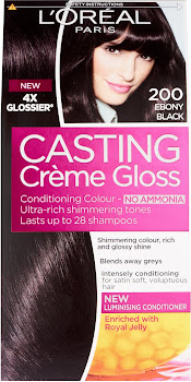 L'Oreal Paris Casting Creme Gloss - 200 Ebony Black