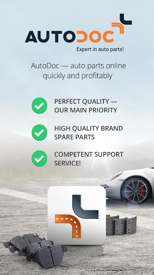 AutoDoc: auto parts in 1-Click- screenshot