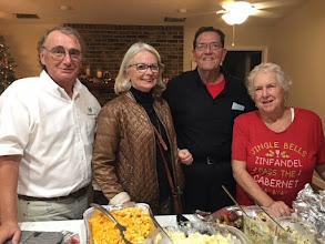 Photo: Klaus, Margret, Joe, Pat - December 8, 2017