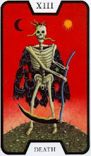 Photo: .XIII. Death - A Morte Tarot of the Witches - Fergus Hall