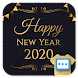 New years night Next SMS skin - Androidアプリ