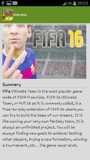 Guide FIFA 2016