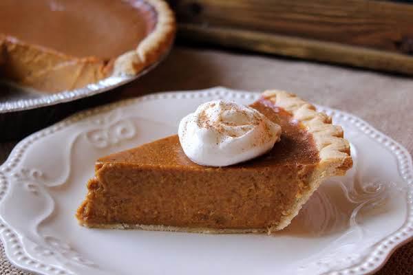 Mom's Special Pumpkin Pie