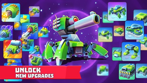 Screenshot 4 Tanks A Lot! - Realtime Multiplayer Battle Arena 1.30 APK MOD