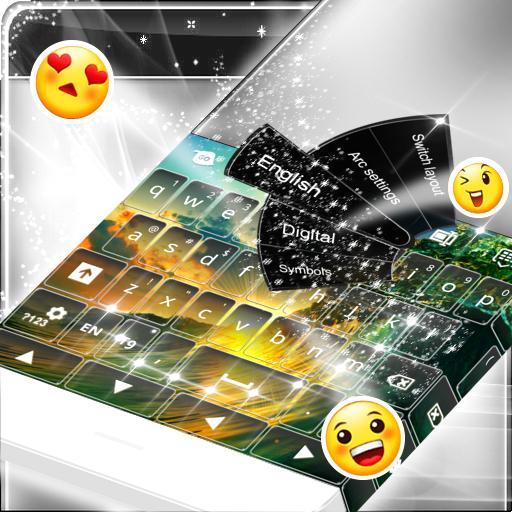 Keyboard Theme for Galaxy S5 音樂 App LOGO-硬是要APP