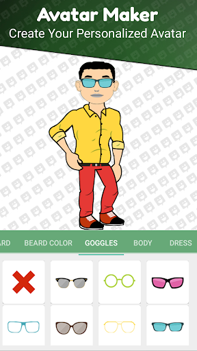 Avatar Maker Pro app (apk) free download for Android/PC/Windows screenshot