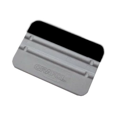 Plastic squeegee with felt pro