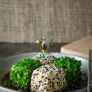 Chive and Sesame Tofu