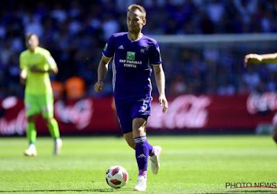 Yevhen Makarenko a repris le chemin de l'entraînement à Anderlecht