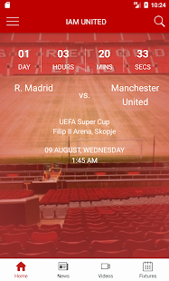 Manchester United Fan App - náhled