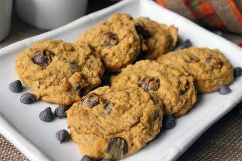 "Pumpkin Oatmeal Chocolate Chip Cookies ""Who doesn't love pumpkin??? I use it..."