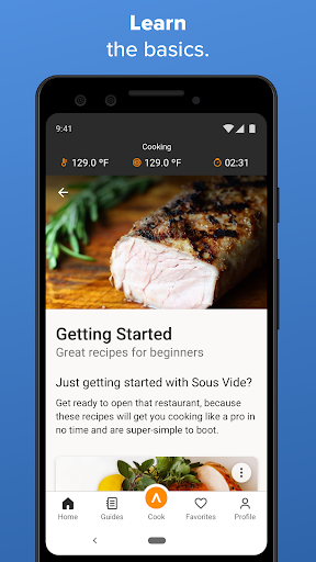 Screenshot for Anova Culinary in United States Play Store