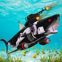 Shark Robot Transformation - Robot Shark Games icon