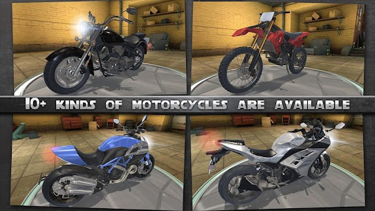 Motorcycle Rider MOD (Unlimited Gold Coins) 3