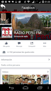 Radio Peru Fm screenshot 2