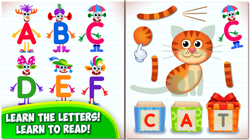 Super ABC Learning games for kids Preschool apps app (apk) free download for Android/PC/Windows screenshot