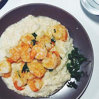 Paleo Creole Shrimp with Cauliflower Grits Recipe