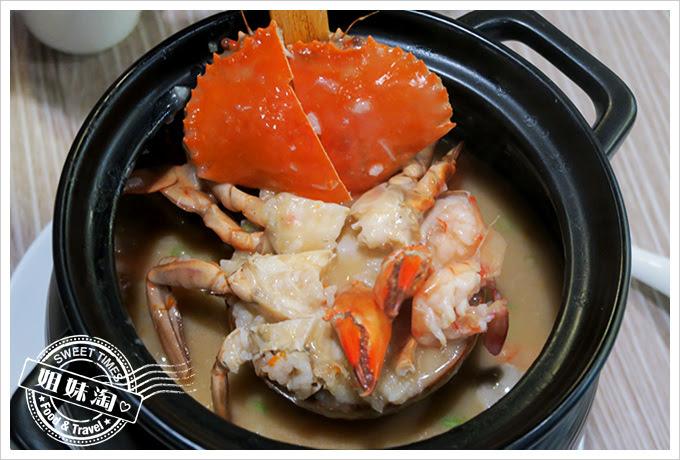 蔡家食堂潮州砂鍋粥-打破砂鍋吃到底,滿滿海味盡是香氣逼人