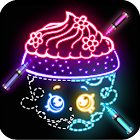 Draw Glow Shopkins icon