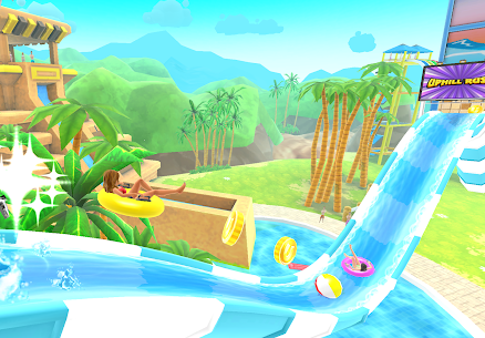 Uphill Rush Water Park Racing MOD Apk 4.3.45 (Free Shopping) 3