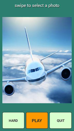航空機のパズルゲーム