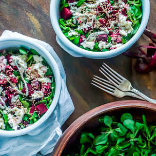 Chia Balsamic Beetroot Salad.