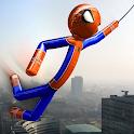 Real Stickman Rope Hero icon