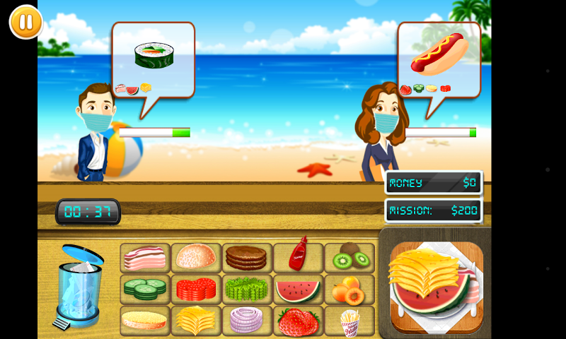 android Ultimate Chef Service Screenshot 1