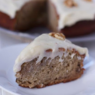 Old Fashion Banana Cake with Cream Cheese Frosting