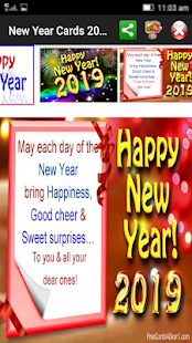 New year greetings 2019 apps on google play screenshot image m4hsunfo
