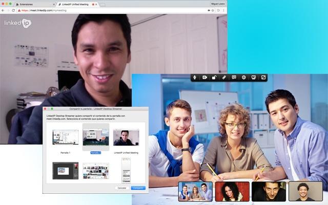 LinkedIP Desktop Streamer