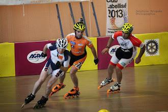 Photo: Course des Vétérans : Charles (RCA), Christophe (Gap), Florian (Reillanne)