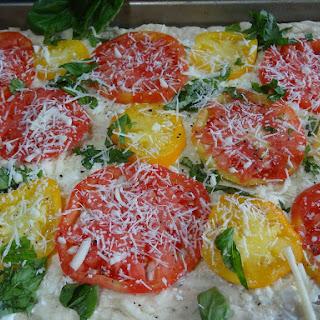 Tomato and Basil Flat Bread Recipe