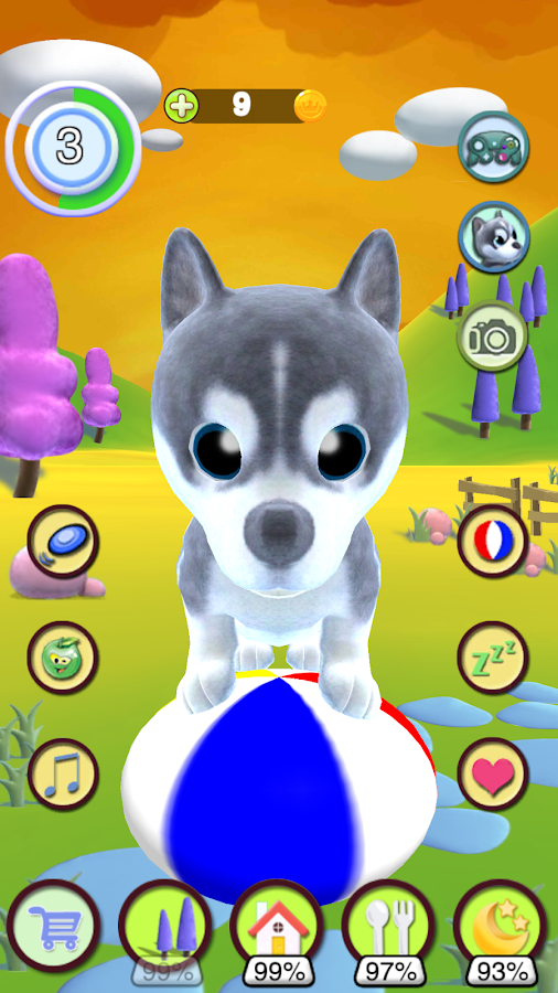 Screenshots of Talking Puppy for iPhone