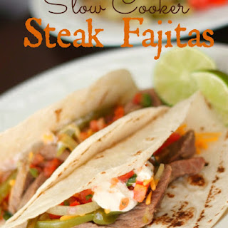 Chili's Steak Fajitas Slow Cooker Copycat
