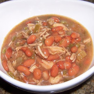 Light and Spicy Turkey and Pinto Bean Chili