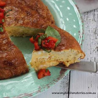 5 minute Spanish Potato Omelette