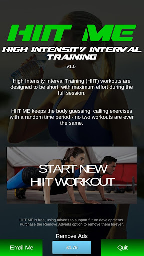 HIIT ME: Free High Intensity Interval Training App Apk by
