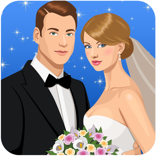 Dress Up Beautiful Bride Wedding Games Icon
