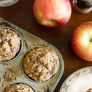 Apple Cinnamon Oatmeal Muffins.
