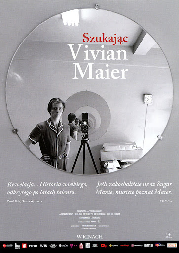 Przód ulotki filmu 'Szukając Vivian Maier'