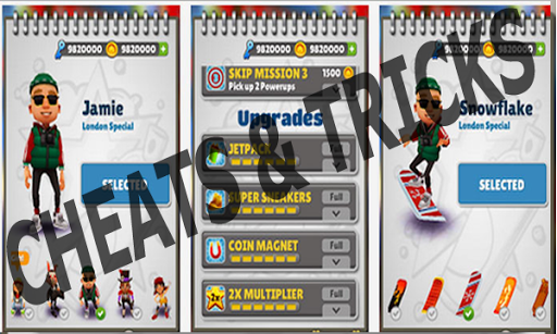 Unlimited Coins Subway Surfers