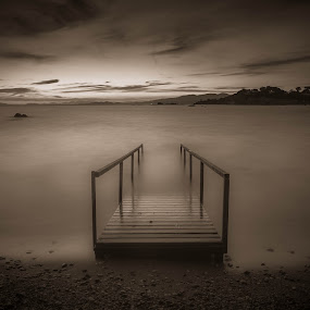 by Zisimos Zizos - Landscapes Waterscapes ( sunset, sea, long exposure, seascape )