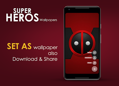 Superhero HD Wallpapers By Electron Media Poster